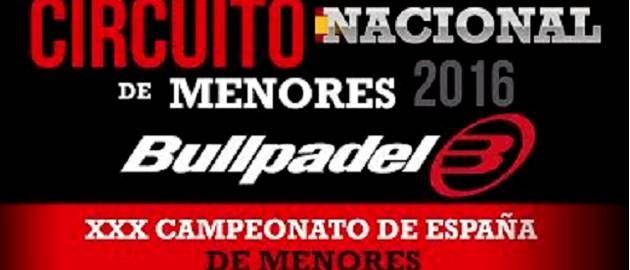 XXX Campeonato de Espa�a de Menores Bullpadel 2016
