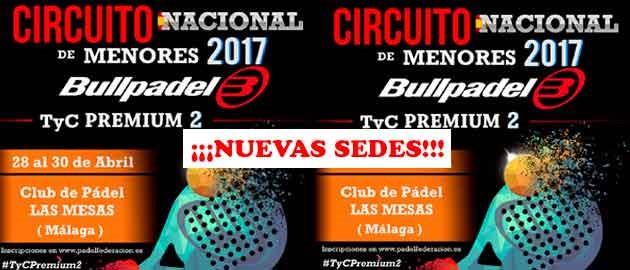 #TyCPremium2 Bullpadel NUEVAS SEDES