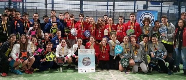 Fit Point Plasticband by Black Crown (1ª cat.) y Sanset Indoor (2ª cat.) Campeones de España Cadete por equipos